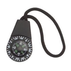 Zipper Pull Compass