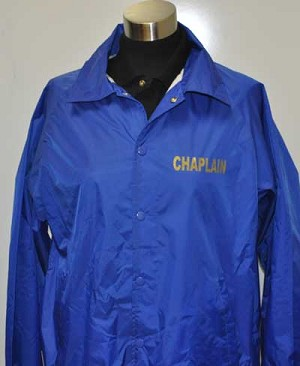 Chaplain Coach Windbreaker Jacket
