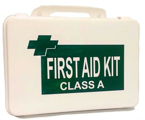 OSHA/ANSI Office First Aid Kit Class A in a Plastic Case