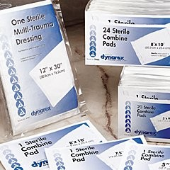 Abdominal Pad 8x10 1-Pouch Sterile -  24/tray; 15 trays/case