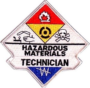 Hazmat Technician Embroidered Patch