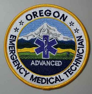 Oregon EMT Advanced Patch