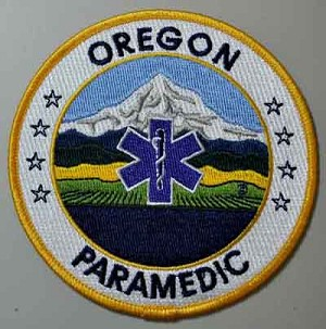Oregon Paramedic Patch