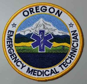 Oregon EMT Patch