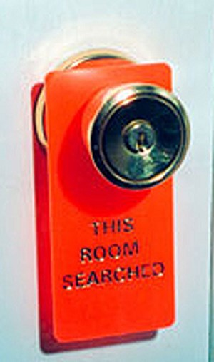 "Door Marker ""This Room Searched"""