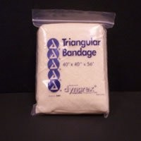 40inx40inx56in Triangular sling-bandage with 2 safety pins 12/bag 20bags/case