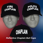 Reflective Chaplain Ball Cap